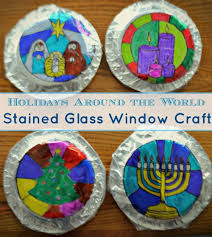 holidays around the world craft gorgeous stained glass