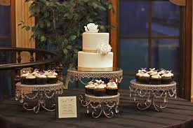 wedding cake and cupcakes cupcake display gallery the couture cakery