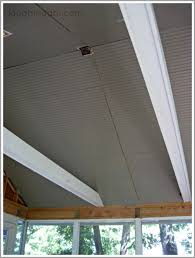 Beadboard Porch Ceiling by Installing Beadboard Ceiling On A Screened Porch