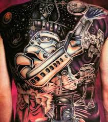 star wars tattoo design ideas and history