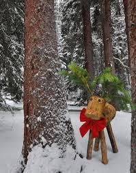 log reindeer log reindeer
