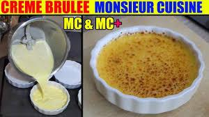 cuisine plus fr recettes recette crème brûlée monsieur cuisine plus lidl silvercrest skmk