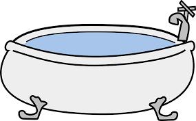 transparent bathtub bathtub tub bath free vector graphic on pixabay