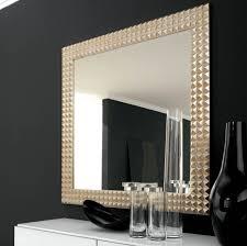 round mirror black frame vanity decoration