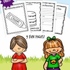 free kindergarten printable worksheets library of freebies
