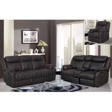 dorothy reclining sofa and loveseat set in gray fabric