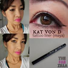 kat von d tattoo liner makes cat eyes easy peasy review