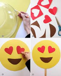 Emoticon Costume Halloween Diy Hacer Máscaras Los Emojis Whatsapp Emojis Craft