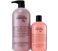 philosophy fresh creamy sweet shower gel duo page 1 qvc com