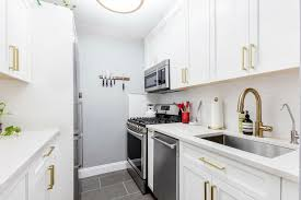 what is the best lighting for a galley kitchen a galley kitchen renovation in murray hill manhattan