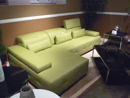 Green Leather Sectional Sofa Green Sectional Sofa Bq5 Leather Sectionals