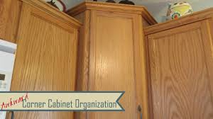 kitchen organization awkward corner cabinets lazy susans youtube