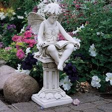 Ideas For A Fairy Garden by Amazon Com Design Toscano The British Reading Fairy Garden