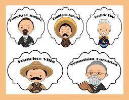 imagenes de la revolucion mexicana en preescolar resultado de imagen para actividades de la revolucion mexicana para