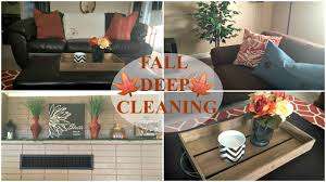 how to deep clean the living room fall deep cleaning youtube