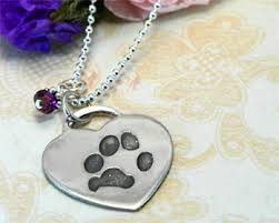 pet memorial necklace pet memorial jewelry personalized jewelry for pet loss