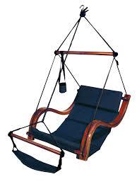 Padded Hammock Chair Amazon Com Hammaka Nami Deluxe Hanging Hammock Lounger Chair In