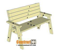Outdoor Wooden Bench Plans by Diy Sturdy Garden Bench Free Building Plans Farmhouse Design