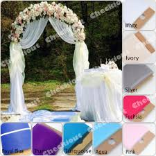 wedding arches using tulle wedding arch decorations wedding planner and decorations