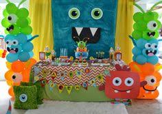 Monster Inc Decorations A Little Monster Themed Boy U0027s 1st Birthday Globos Personalizados