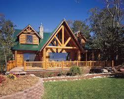 sierra garrett log home floor plan by hiawatha log homes