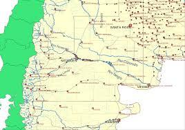 Tos Map Río Negro Atlantischer Ozean U2013 Wikipedia
