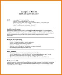 resume skills summary lukex co