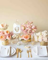 Wedding Shower Ideas by Pink Bridal Shower Ideas And Decorations We Love Martha Stewart