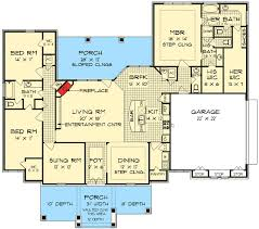 his and bathroom floor plans plan 55137br his and bathrooms tudor house plans and masters