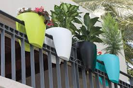 Rail Hanging Planters by Frp Planters Frp Planters U0026 Pots Manufacturer From Pune
