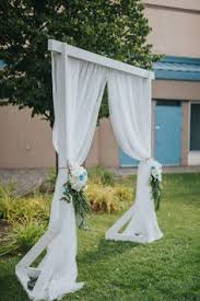 wedding arches in edmonton lions garden edmonton wedding weddings details