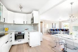 salon et cuisine ouverte sejour cuisine 40m2 argileo