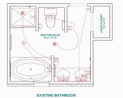 Modern Bathroom Plans Modern Style Small Master Bathroom Floor Plans Pics Photos Large