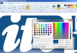 100 color matching in microsoft paint how to insert text in