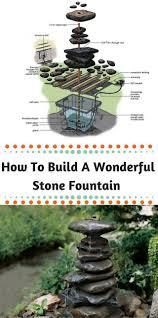 Garden Stone Ideas by Best 25 Stone Fountains Ideas On Pinterest Patio Fountain