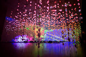 the lights festival houston 2017 pipilotti rist pixel forest and worry will vanish the museum of