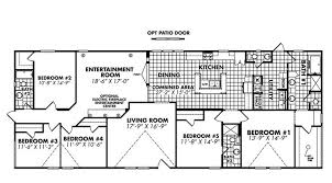 Double Wide Floor Plans With Photos Doublewide Home Floor Plans 5 Bedroom Floor Plans 281 South