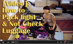 Packing Light Tips Smart Packing Tips For Travel Packing Light