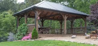 Pre Built Pergolas by Pergolas And Pavilions The Barn Raiser Quality Amish Built