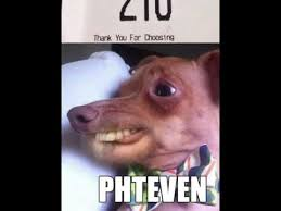 Stephen Dog Meme - to mcdonalds staff my name is stephen with a ph phteven