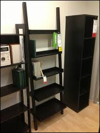Leaning Bookcase Walmart Furniture Ikea Leaning Ladder Bookcase Modern Ikea Leaning