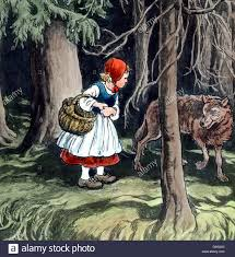 rotkäppchen und der böse wolf little red riding hood history
