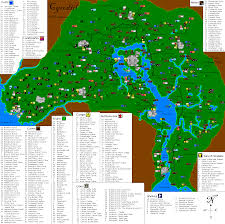 Elder Scrolls Map The Elder Scrolls Iv Oblivion Cyrodiil Map For Pc By Myforwik