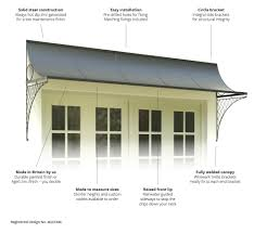 trellis door canopy u0026 features u0026 benefits