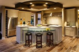 curved kitchen islands tremendous center kitchen island ideas with curved glass breakfast
