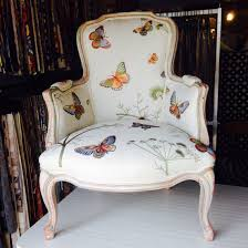 Upholstered Chair Design Ideas Butterfly Louis Chair Upholstered In Our Customer S Own Fabric
