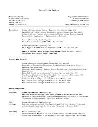 Mit Sample Resume by Cv University U2013 Wains U0027s Online