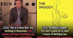 Birthday Sex Meme - 21 people got exactly what they wanted for their birthday