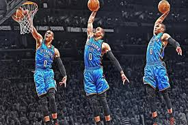 sport en chambre x westbrook dunks de basket sport soie affiche d