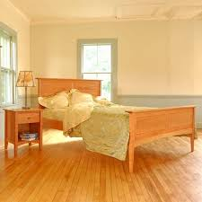 Handcrafted Wood Bedroom Furniture - kidron shaker pencil post bed tahoe beds bed room